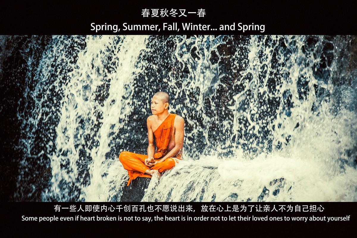 【杆说杆摄】行走柬埔寨 春夏秋冬又一春 柬埔寨幸福的小和尚们 ..._图1-1