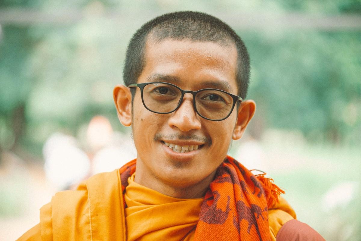 【杆说杆摄】行走柬埔寨 春夏秋冬又一春 柬埔寨幸福的小和尚们 ..._图1-7