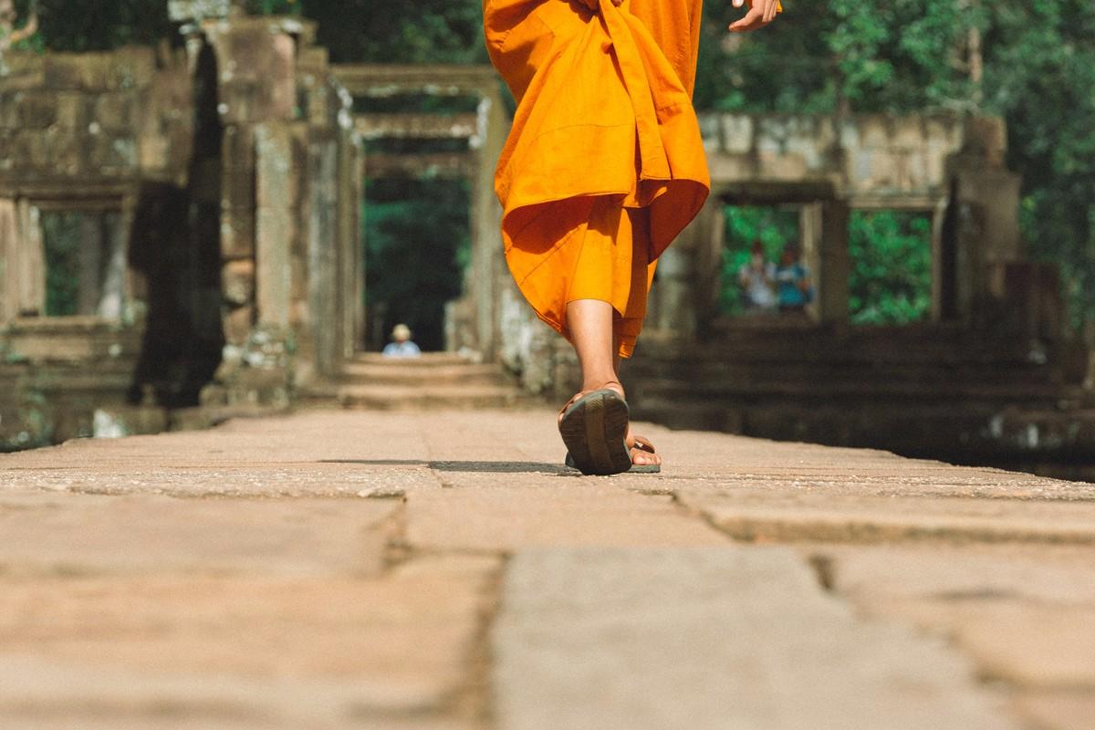 【杆说杆摄】行走柬埔寨 春夏秋冬又一春 柬埔寨幸福的小和尚们 ..._图1-17