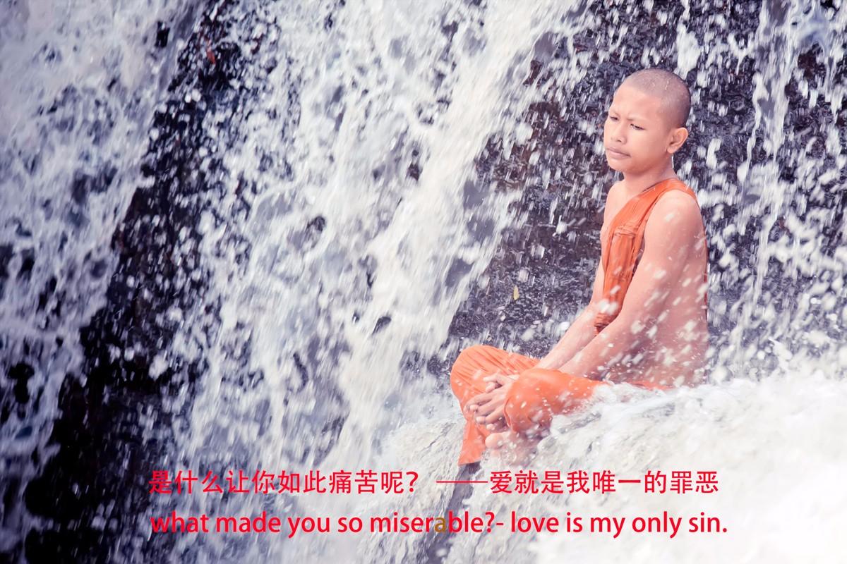 【杆说杆摄】行走柬埔寨 春夏秋冬又一春 柬埔寨幸福的小和尚们 ..._图1-2