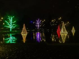 费城长木公园,夜幕下的灿烂