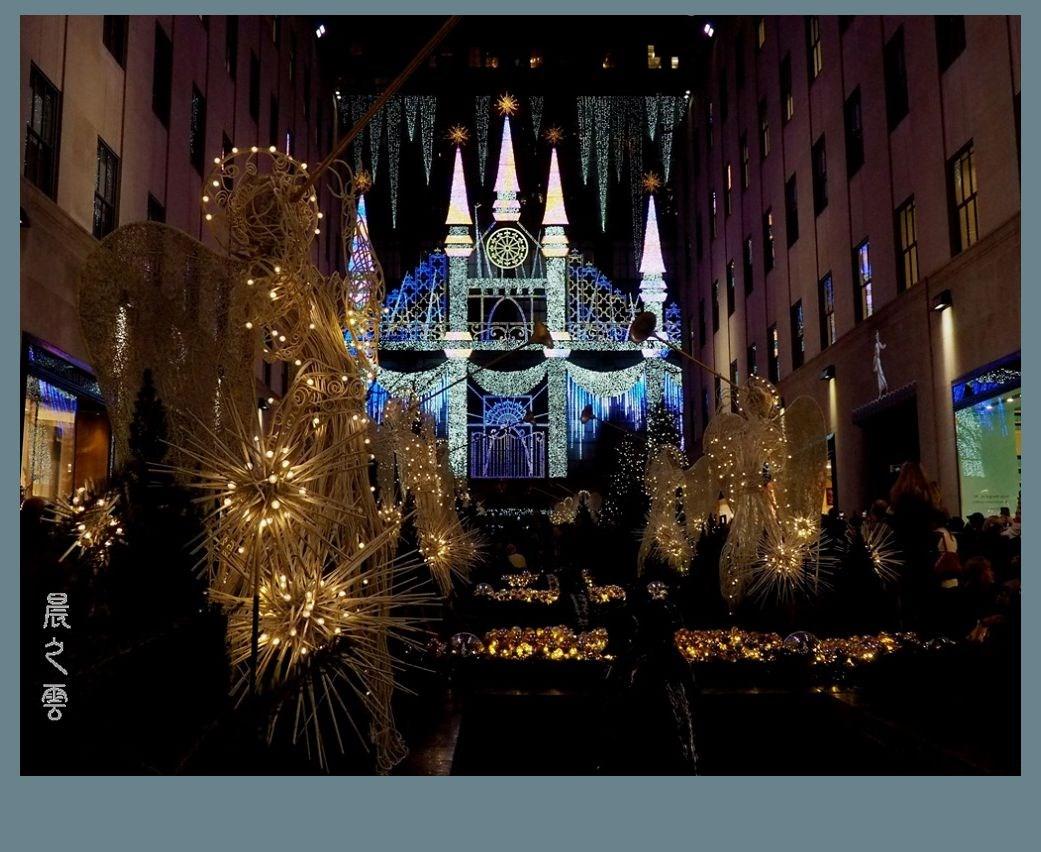 纽约洛克菲勒中心的圣诞节_图1-3