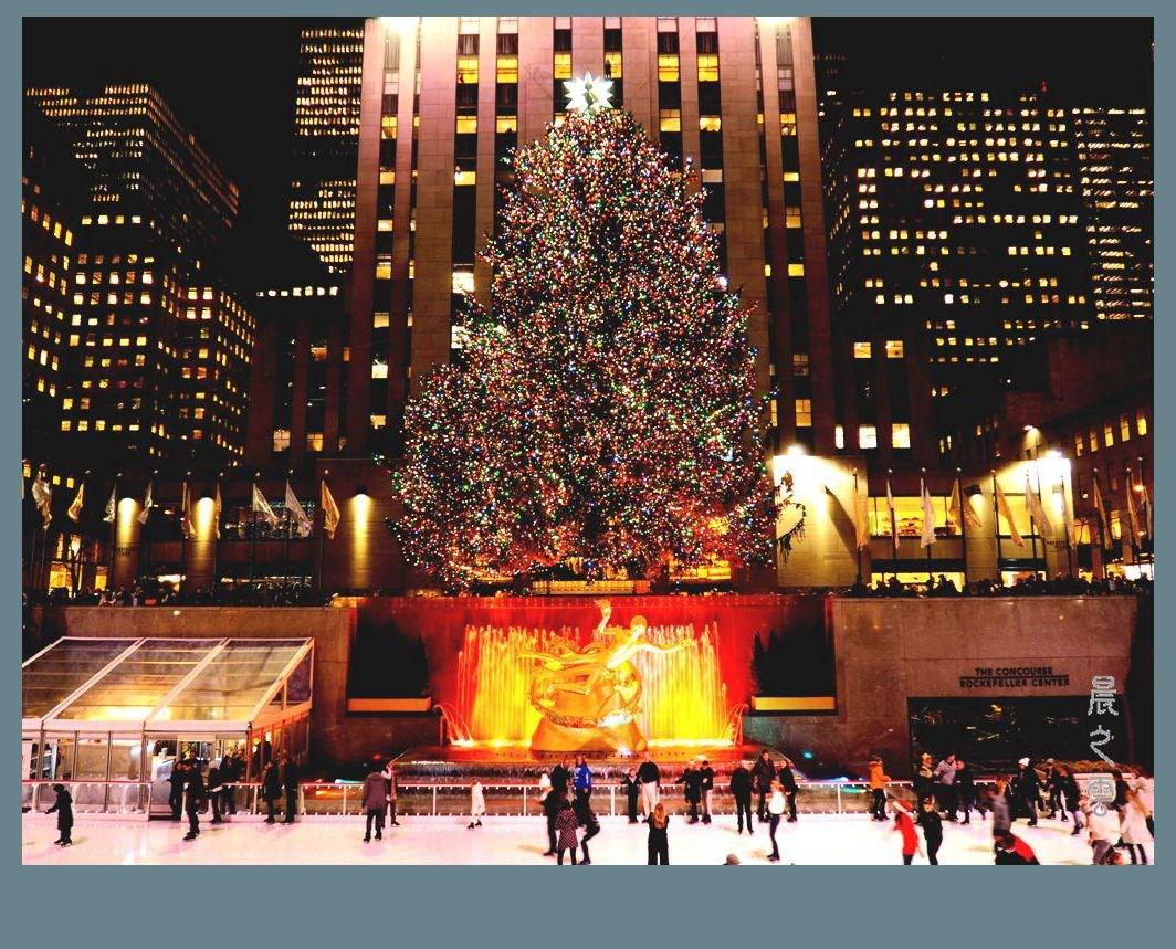 纽约洛克菲勒中心的圣诞节_图1-1
