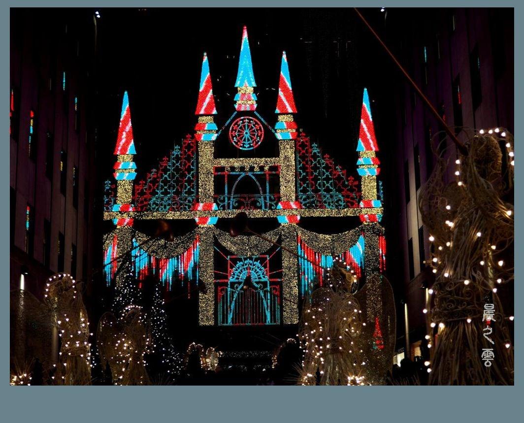 纽约洛克菲勒中心的圣诞节_图1-5
