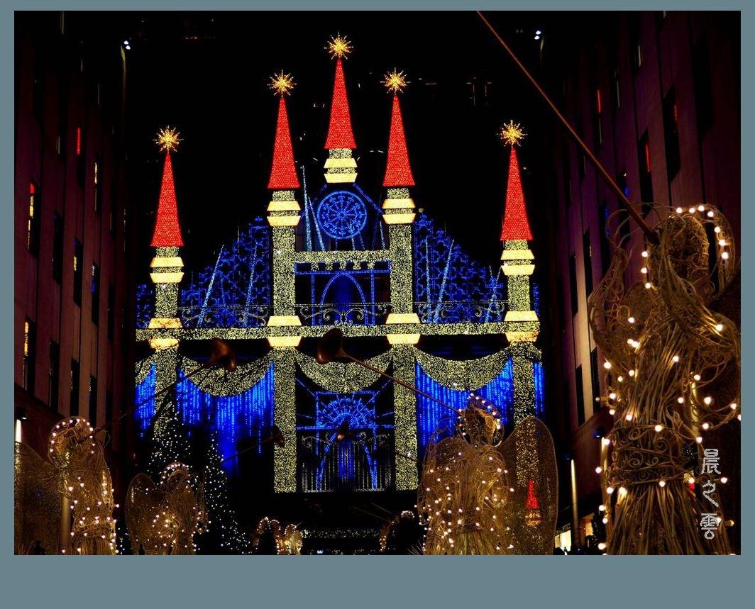纽约洛克菲勒中心的圣诞节_图1-6