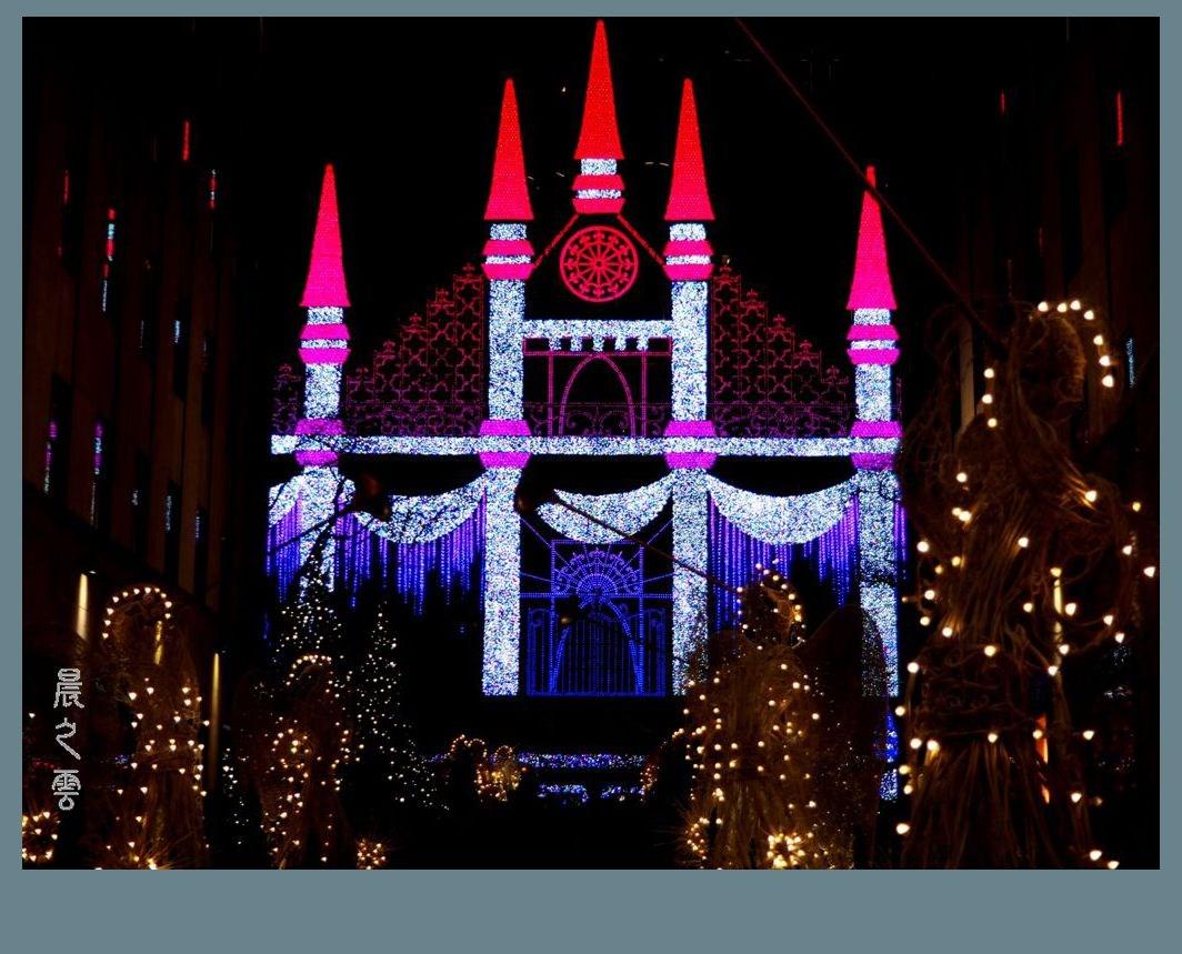 纽约洛克菲勒中心的圣诞节_图1-8