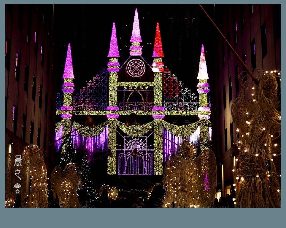 纽约洛克菲勒中心的圣诞节_图1-7
