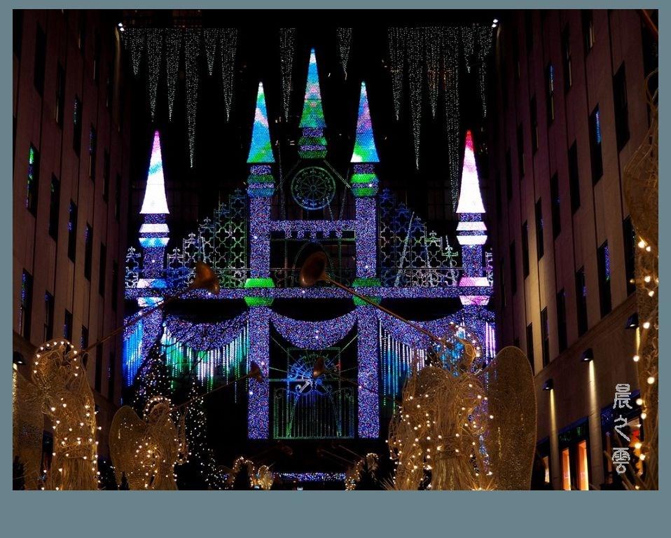 纽约洛克菲勒中心的圣诞节_图1-10
