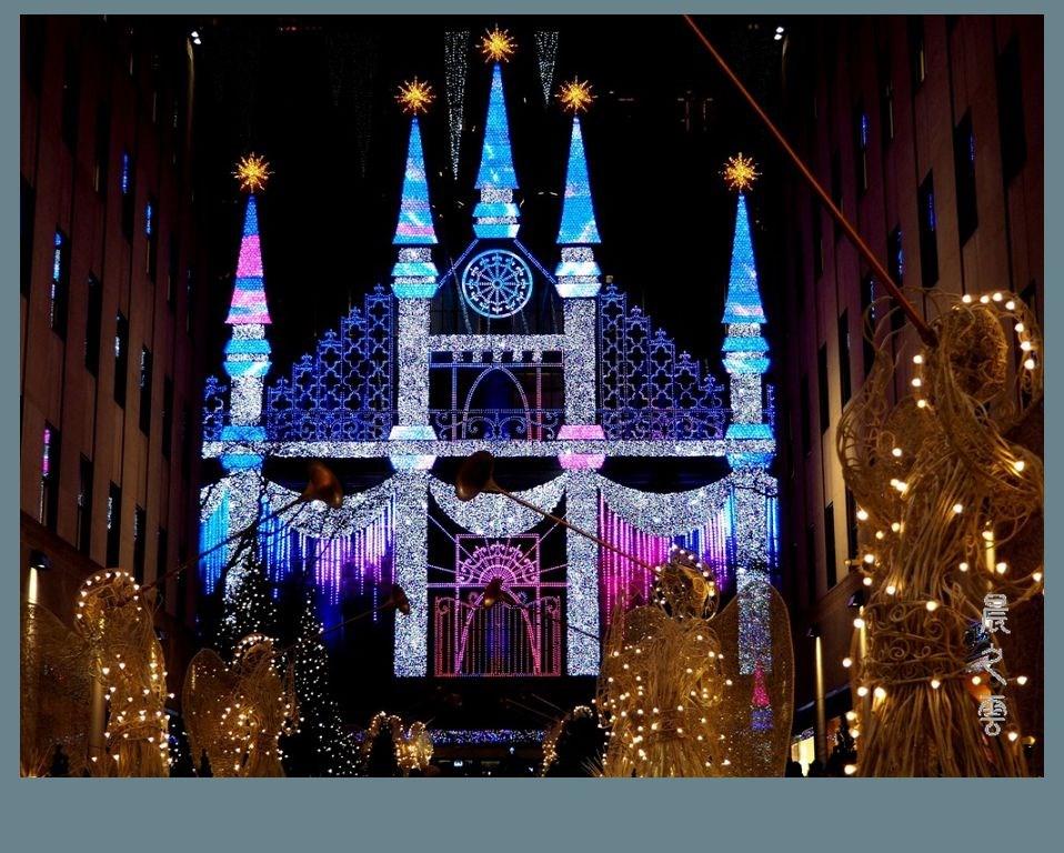 纽约洛克菲勒中心的圣诞节_图1-9