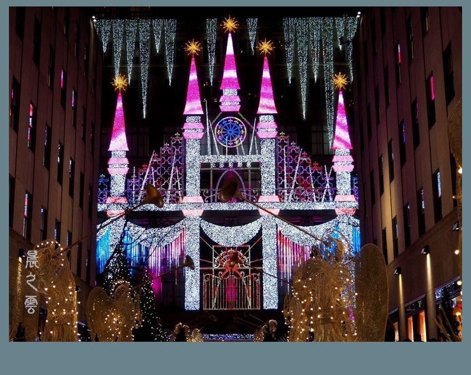 纽约洛克菲勒中心的圣诞节_图1-11