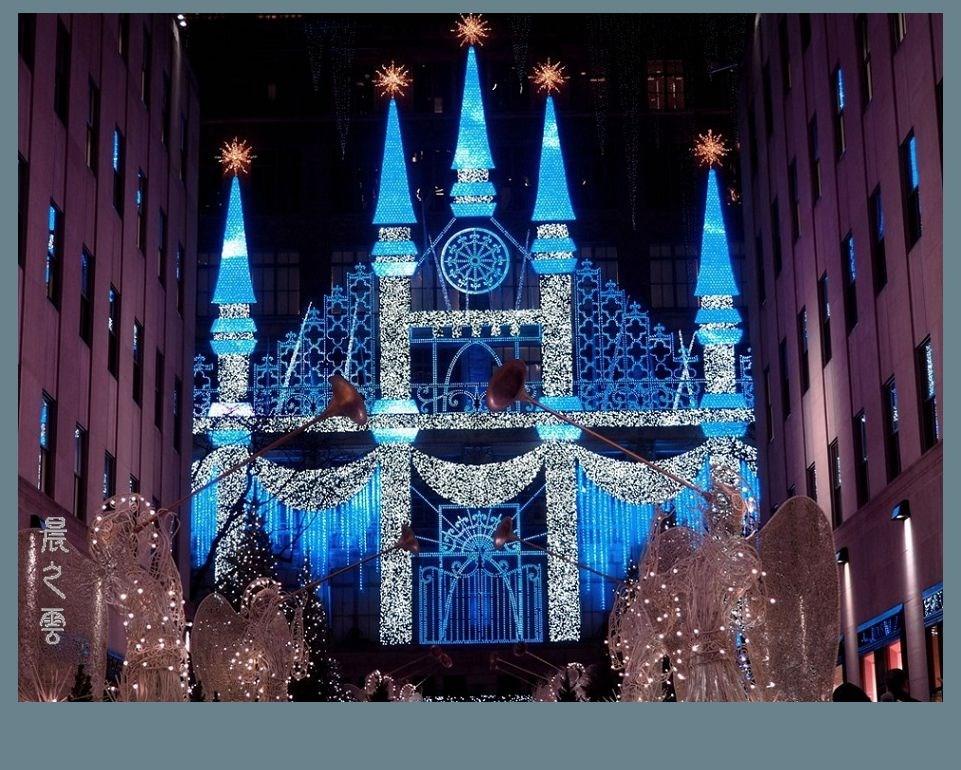 纽约洛克菲勒中心的圣诞节_图1-12