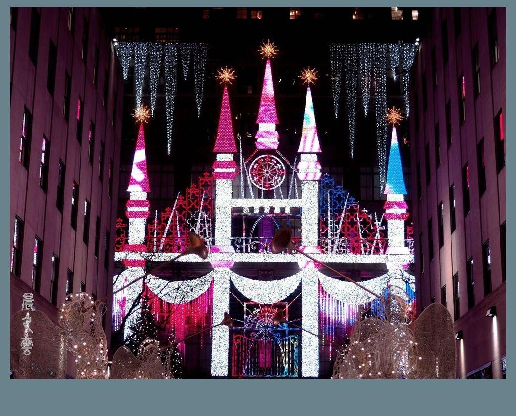 纽约洛克菲勒中心的圣诞节_图1-14