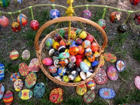 基辅城复活节彩蛋