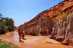 仙女溪红峡谷