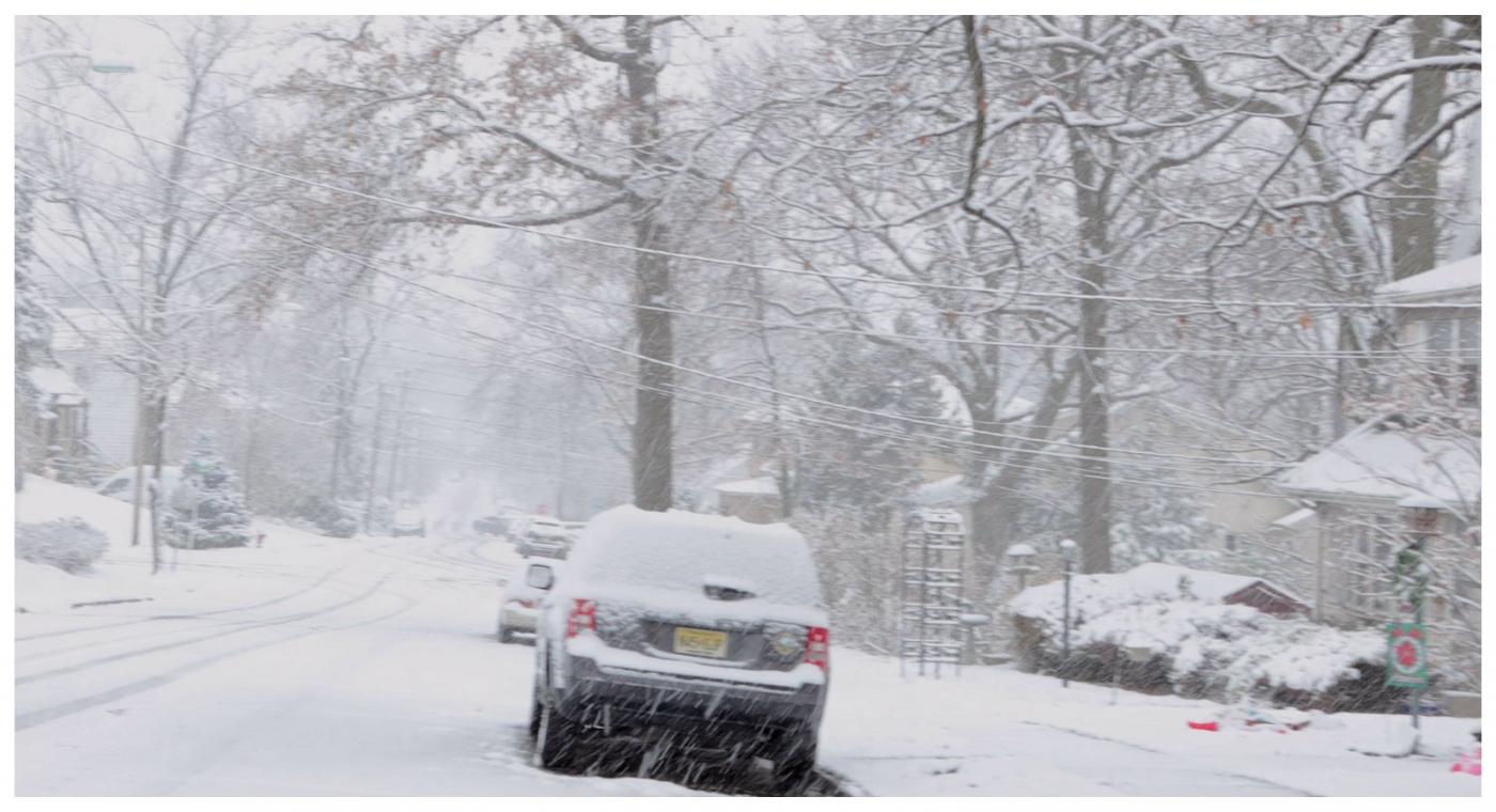纽约地区入冬首雪景色迷人_图1-2