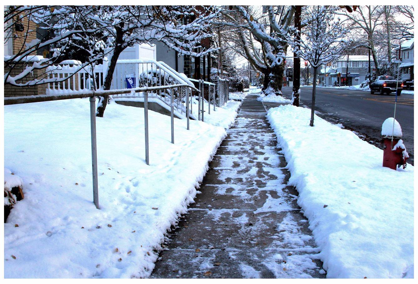 纽约地区入冬首雪景色迷人_图1-8