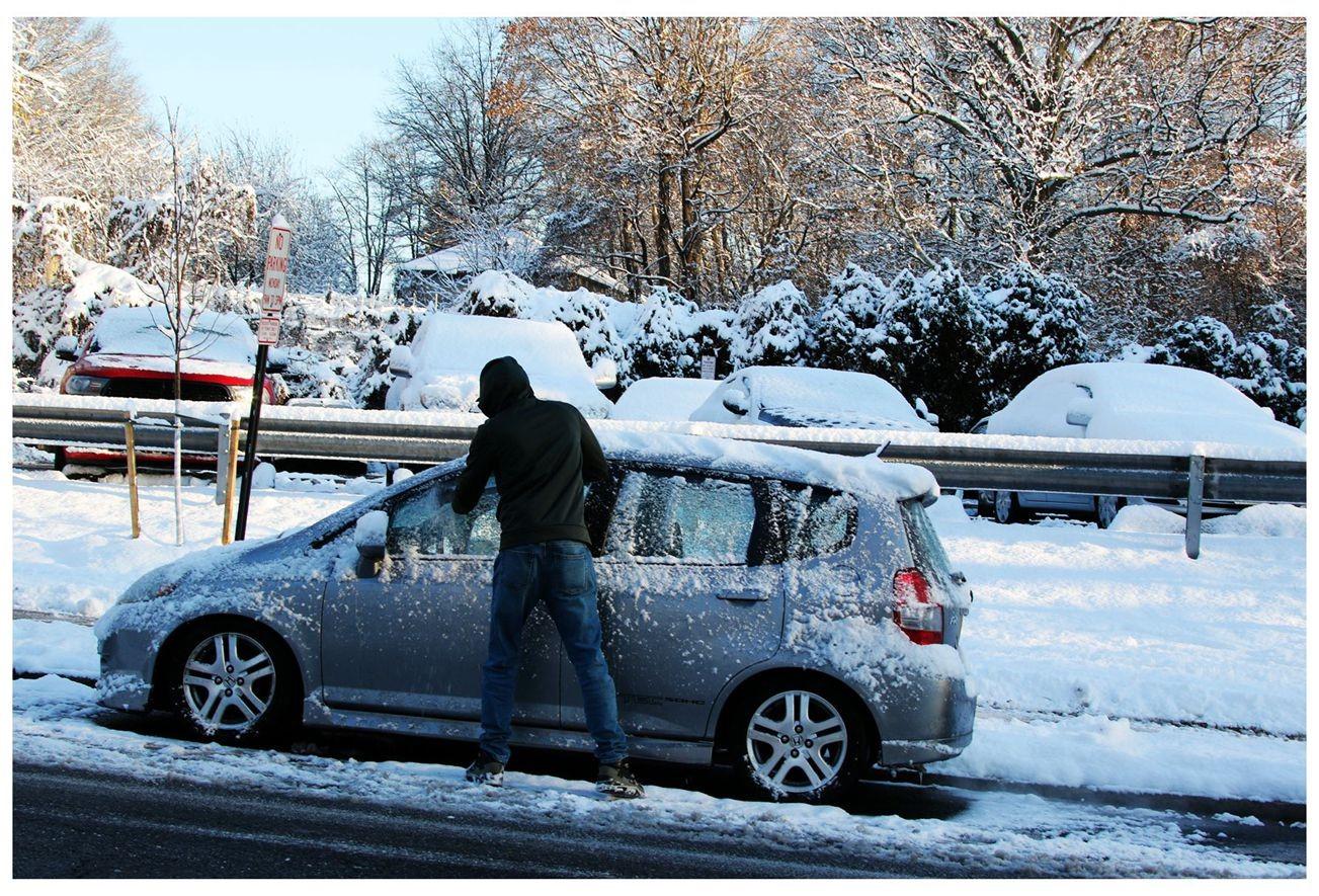 纽约地区入冬首雪景色迷人_图1-23