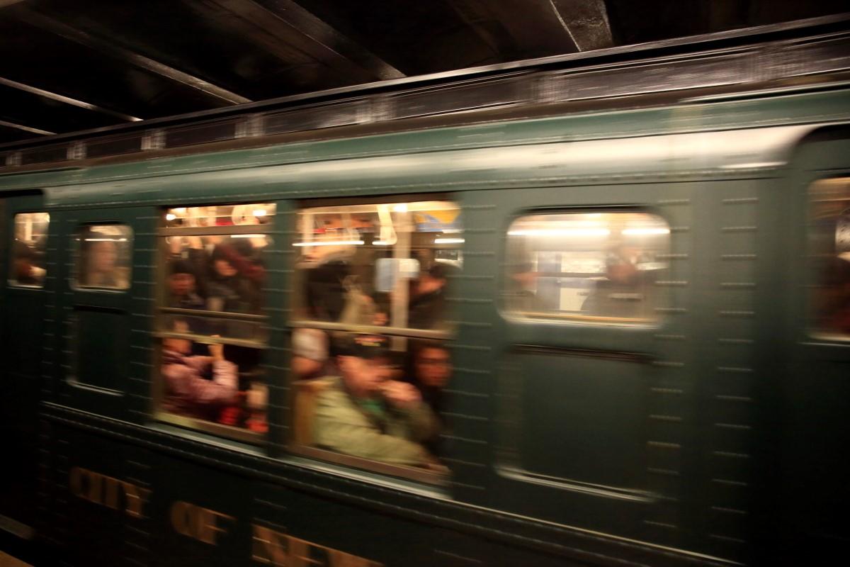 纽约复古火车掠影   【一片叶】_图1-1