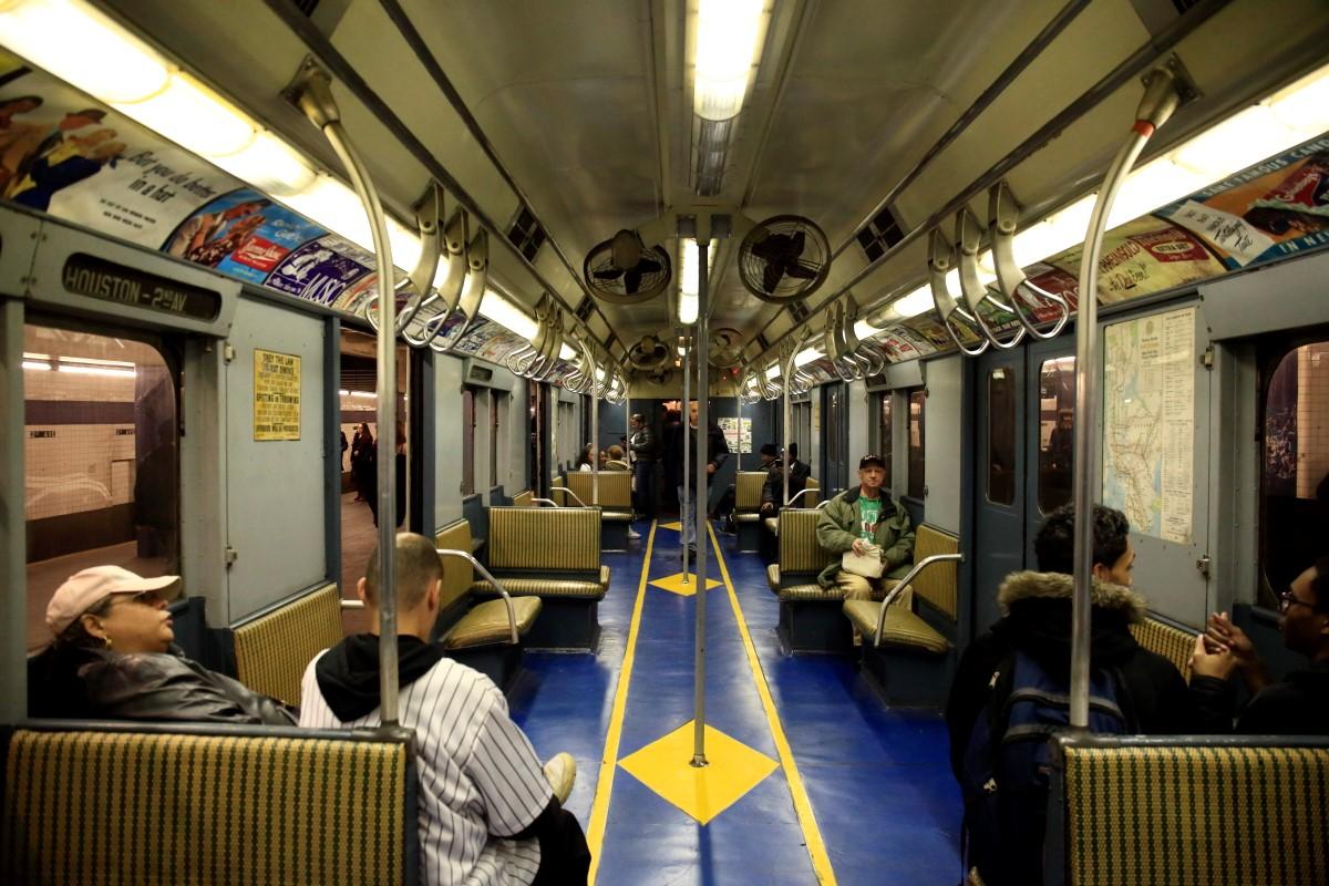 纽约复古火车掠影   【一片叶】_图1-4