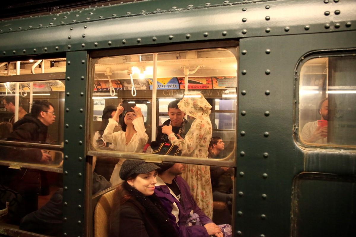 纽约复古火车掠影   【一片叶】_图1-15