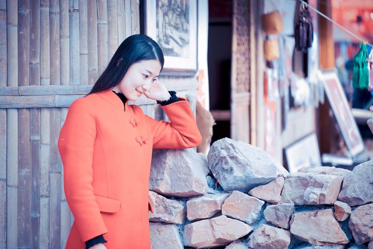 「杆说杆摄」临沂女孩走进兰陵压油沟菜博园 这个冬天有点暖 ..._图1-5
