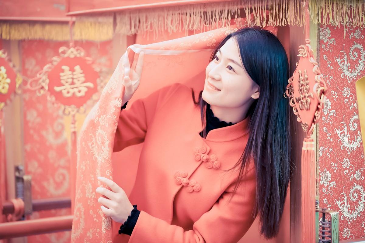「杆说杆摄」临沂女孩走进兰陵压油沟菜博园 这个冬天有点暖 ..._图1-14