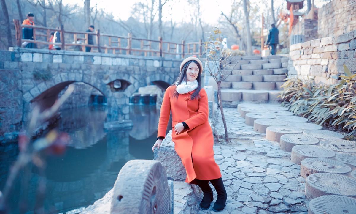 「杆说杆摄」临沂女孩走进兰陵压油沟菜博园 这个冬天有点暖 ..._图1-17