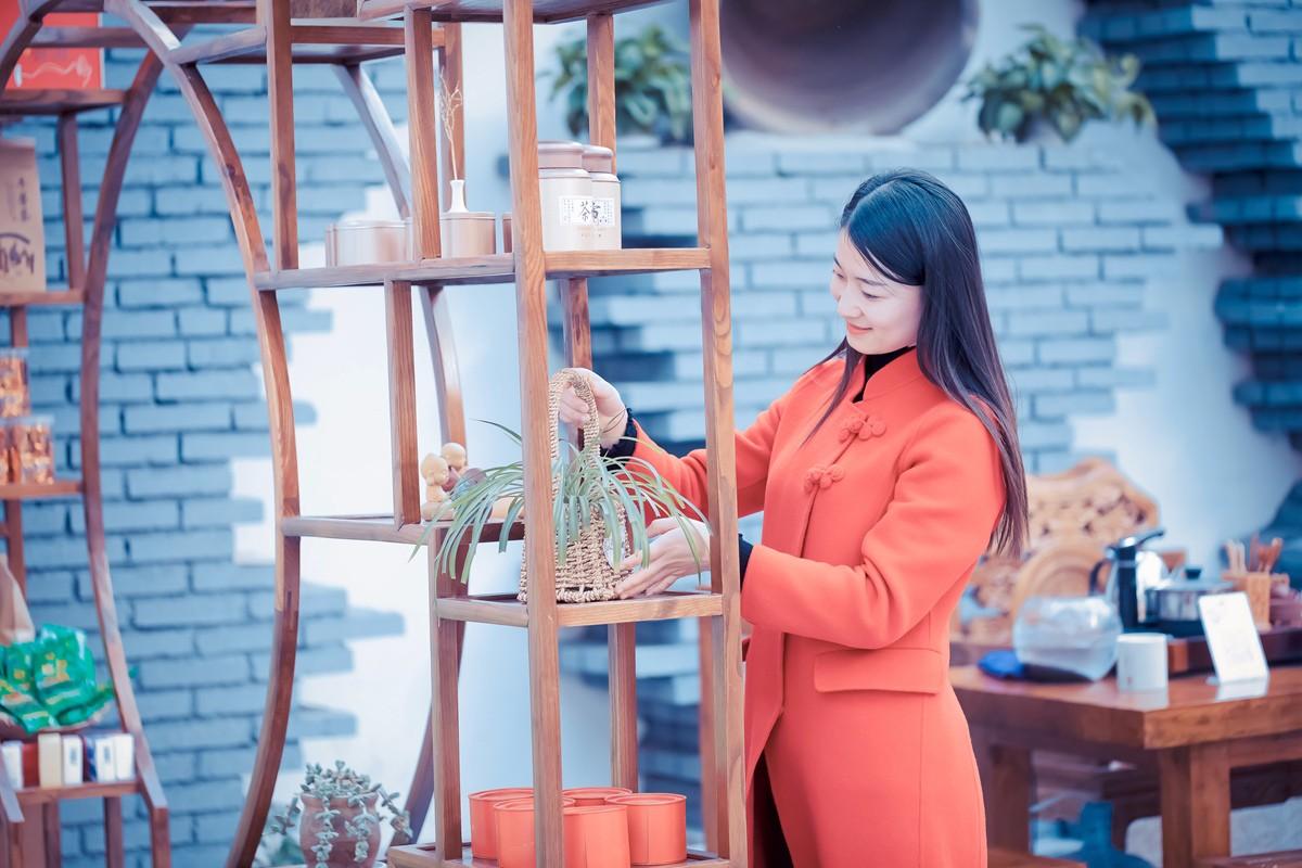 「杆说杆摄」临沂女孩走进兰陵压油沟菜博园 这个冬天有点暖 ..._图1-19