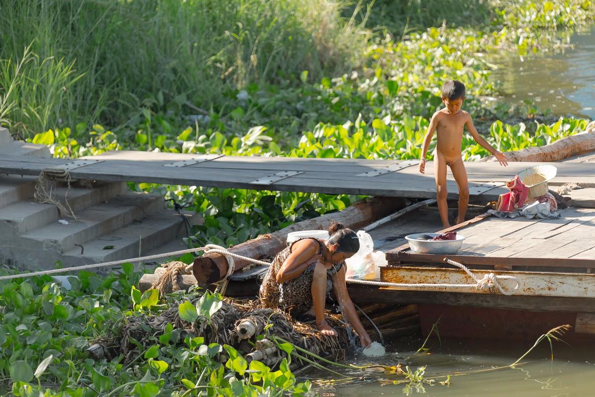 洞里萨湖 被祖国抛弃的漂浮着的难民营_图1-5