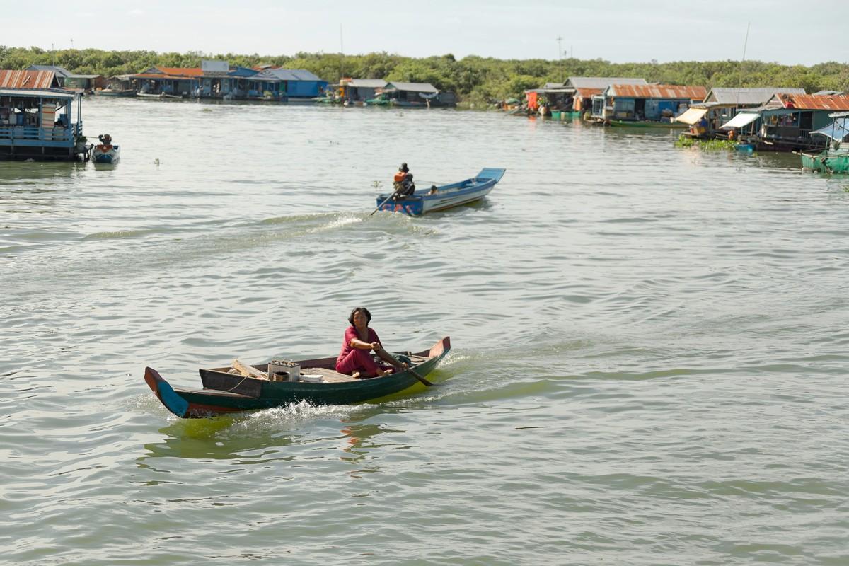 洞里萨湖 被祖国抛弃的漂浮着的难民营_图1-7
