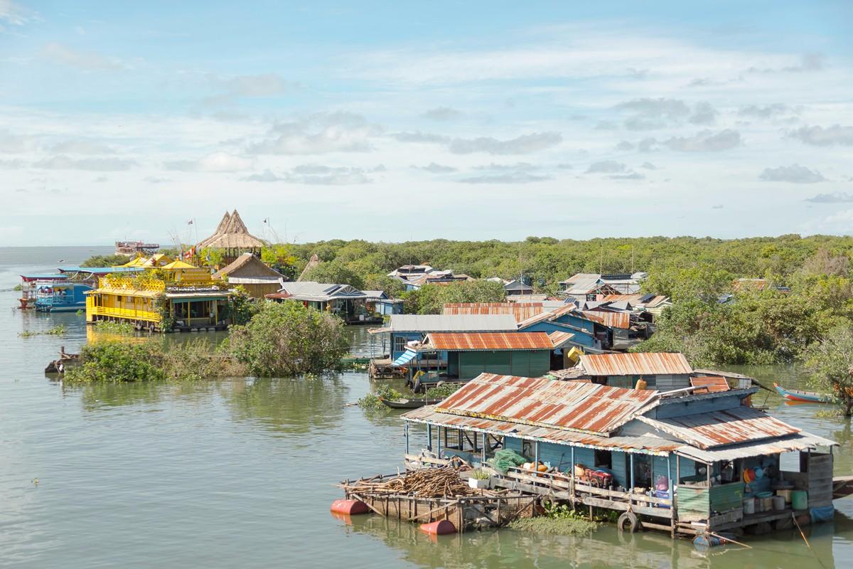 洞里萨湖 被祖国抛弃的漂浮着的难民营_图1-15