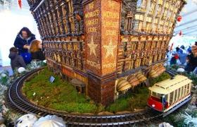 【爱摄影】植物园模型火车展