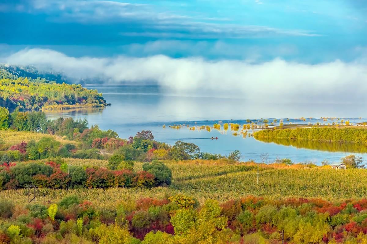 黑龙江上游有一个美丽的边陲小城 她的对面就是俄罗斯_图1-3