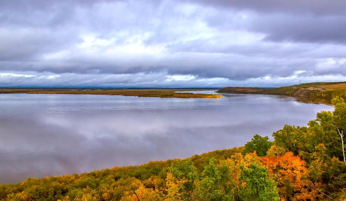 黑龙江上游有一个美丽的边陲小城 她的对面就是俄罗斯_图1-8