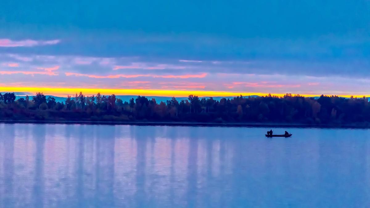 黑龙江上游有一个美丽的边陲小城 她的对面就是俄罗斯_图1-19