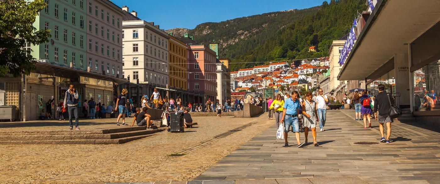 挪威卑爾根市,歐洲文化之都_圖1-3