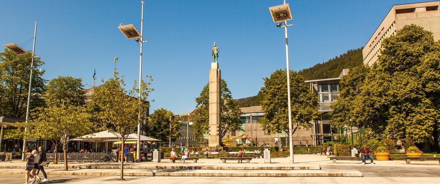 挪威卑爾根市,歐洲文化之都_圖1-2