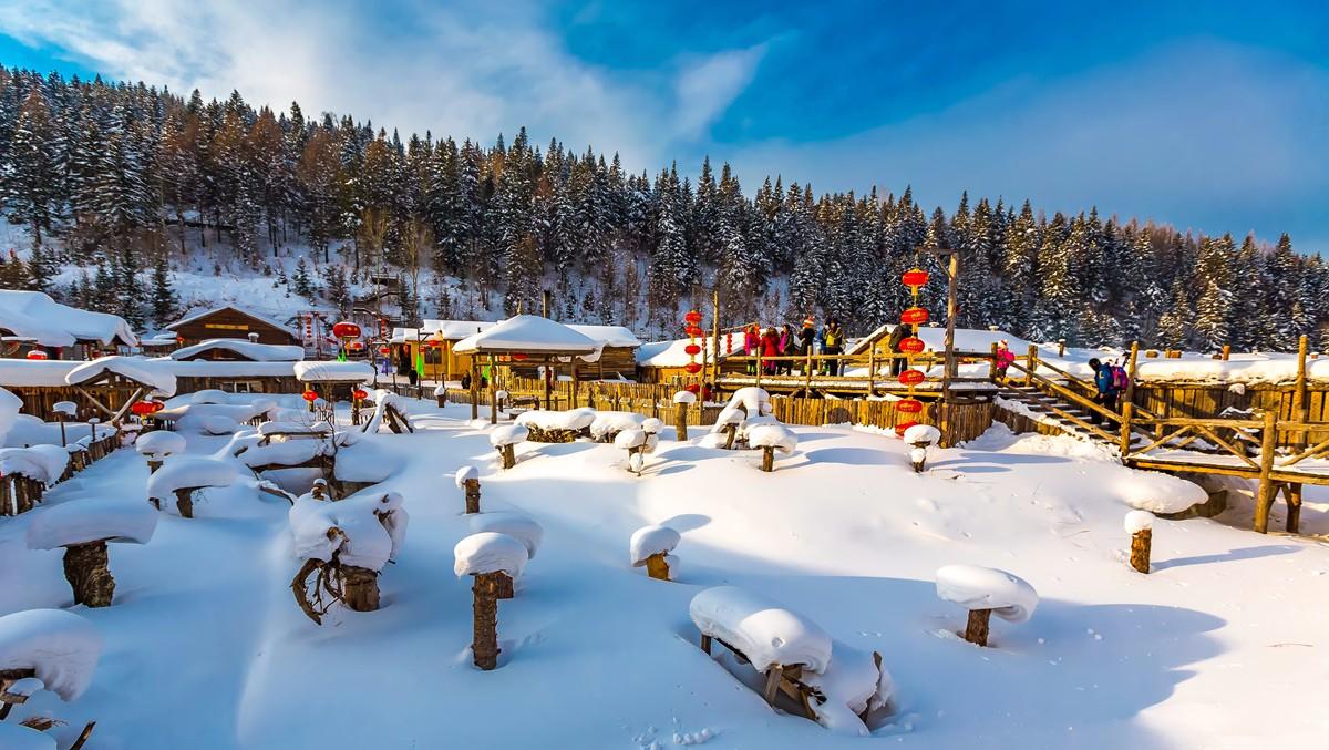 雪乡的雪虽然迷人 但来之不易 成本很高 还是看看照片吧_图1-2