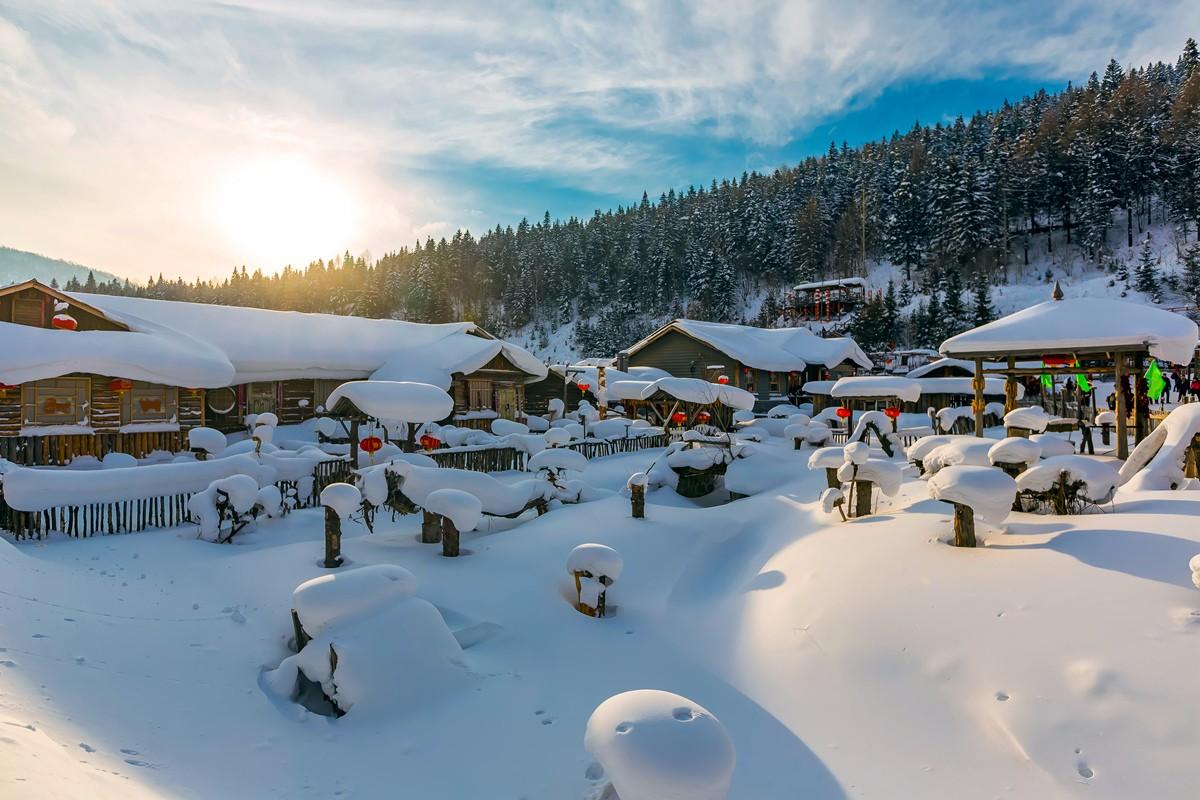 雪乡的雪虽然迷人 但来之不易 成本很高 还是看看照片吧_图1-3