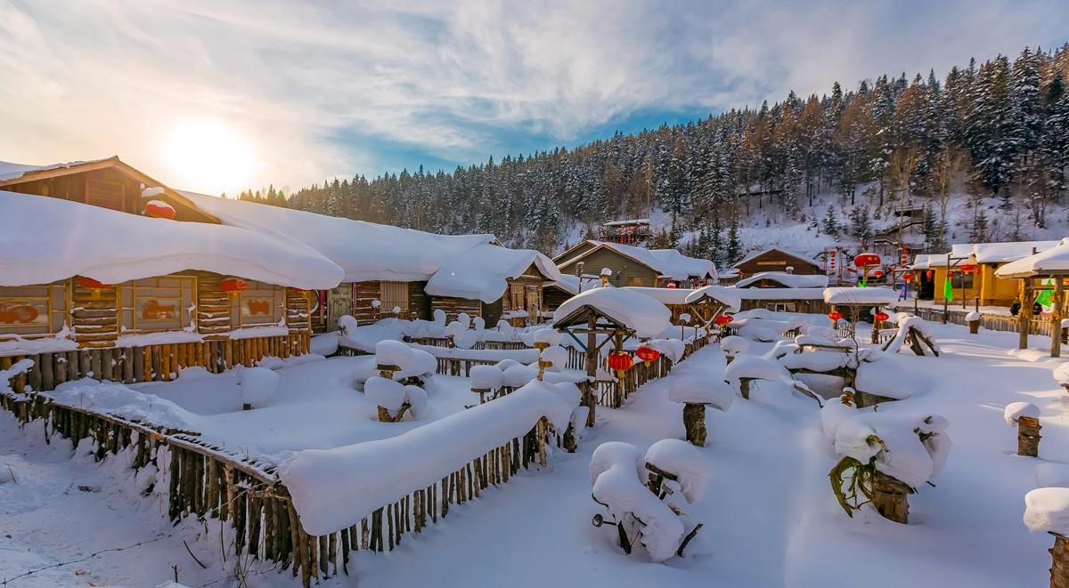 雪乡的雪虽然迷人 但来之不易 成本很高 还是看看照片吧_图1-1