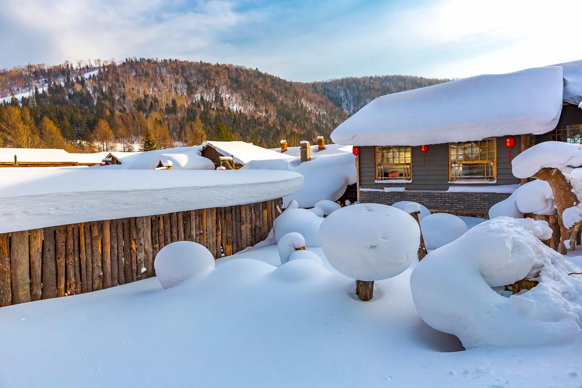 雪乡的雪虽然迷人 但来之不易 成本很高 还是看看照片吧_图1-7