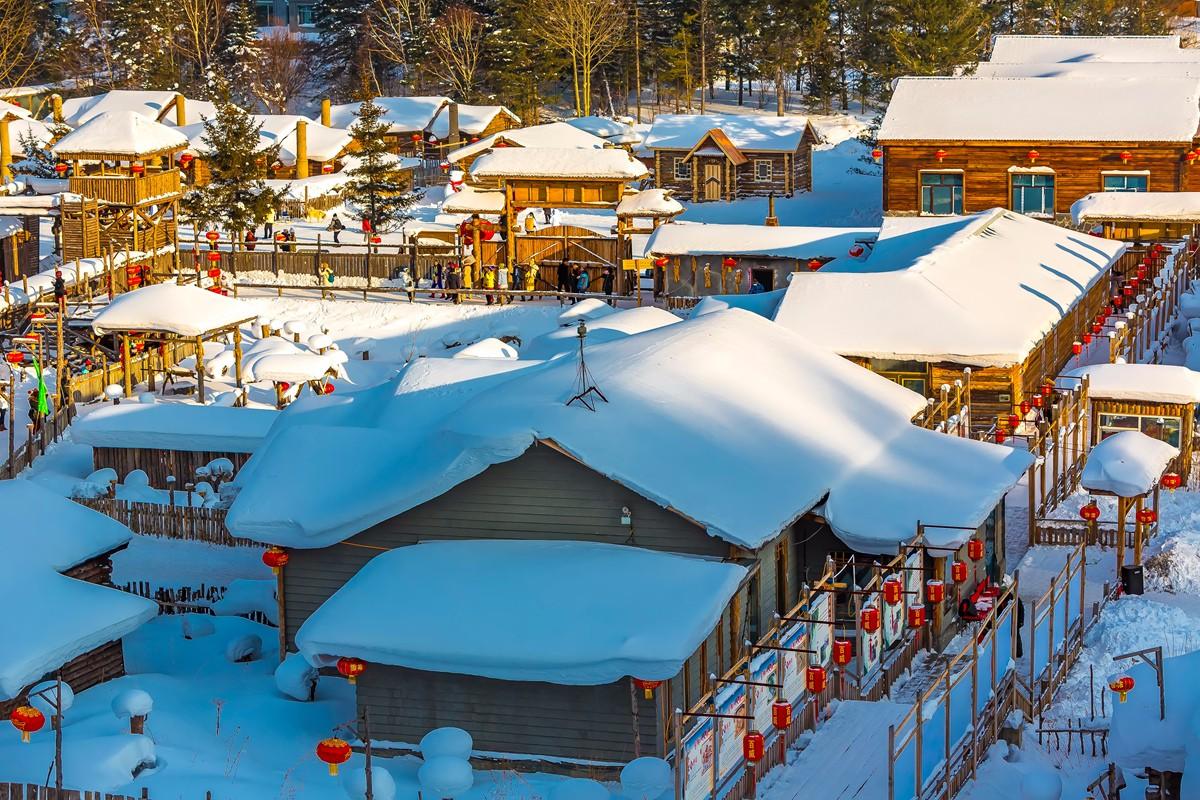 雪乡的雪虽然迷人 但来之不易 成本很高 还是看看照片吧_图1-11