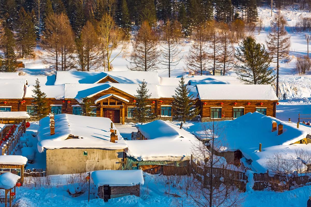 雪乡的雪虽然迷人 但来之不易 成本很高 还是看看照片吧_图1-12