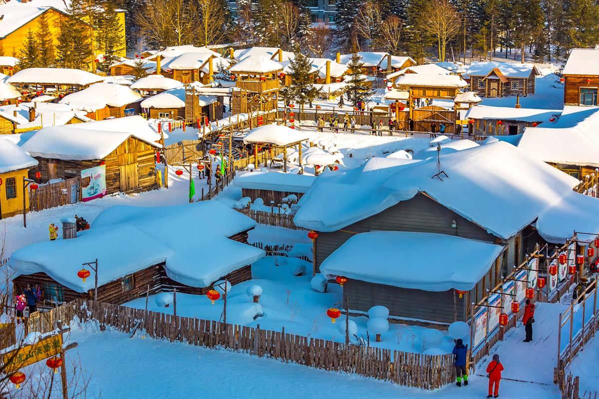 雪乡的雪虽然迷人 但来之不易 成本很高 还是看看照片吧_图1-14