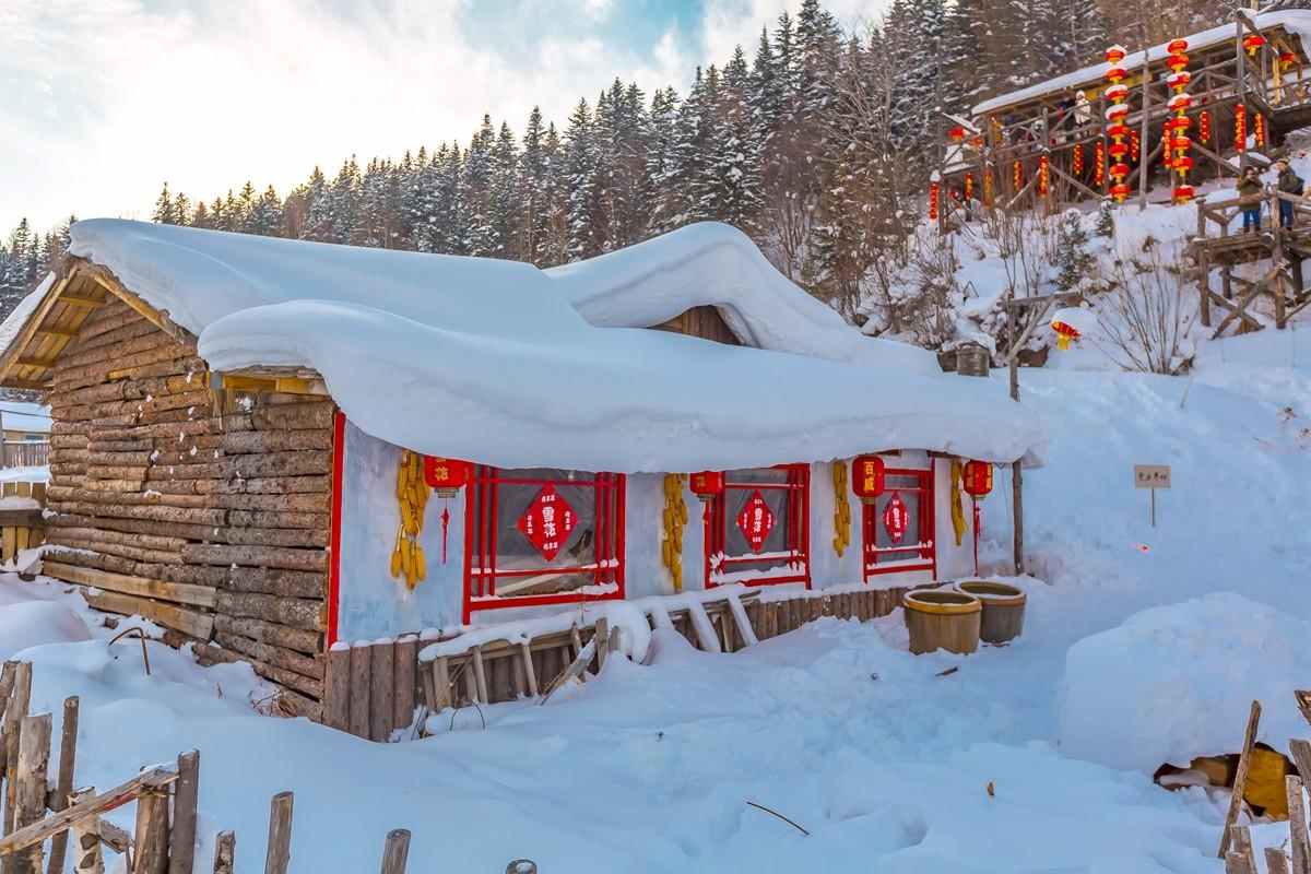 雪乡的雪虽然迷人 但来之不易 成本很高 还是看看照片吧_图1-22