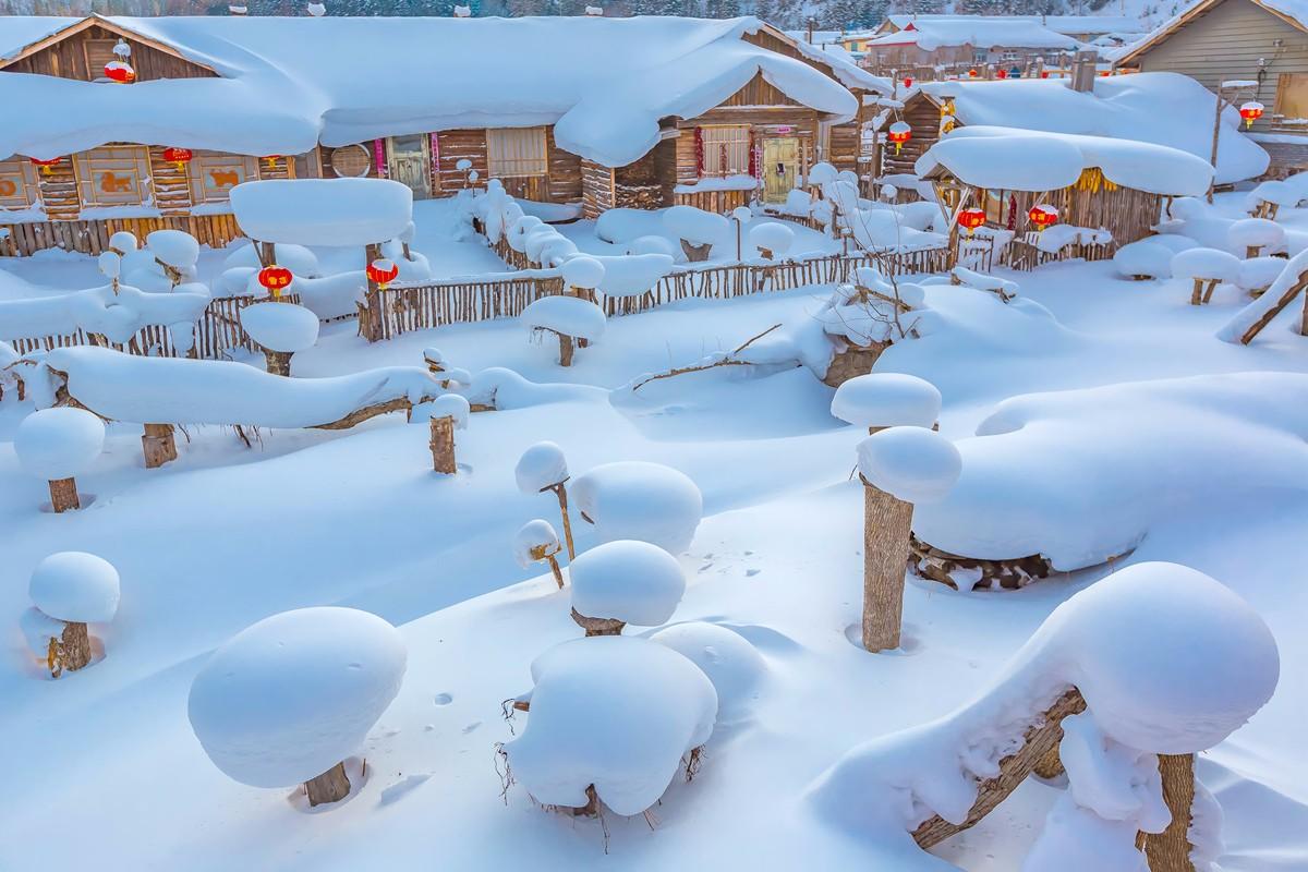 雪乡的雪虽然迷人 但来之不易 成本很高 还是看看照片吧_图1-37