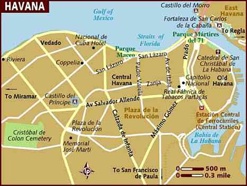 古巴-神秘的国度 (一)早晨!懷舊的哈瓦那_图1-8