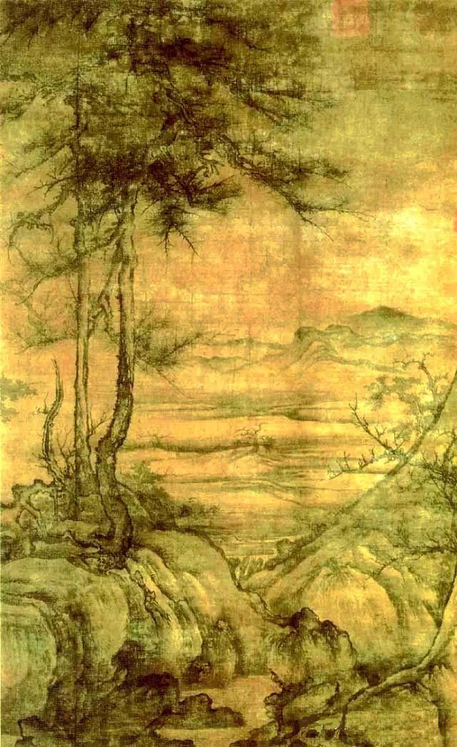 中国画·古松观止     第一部分_图1-6