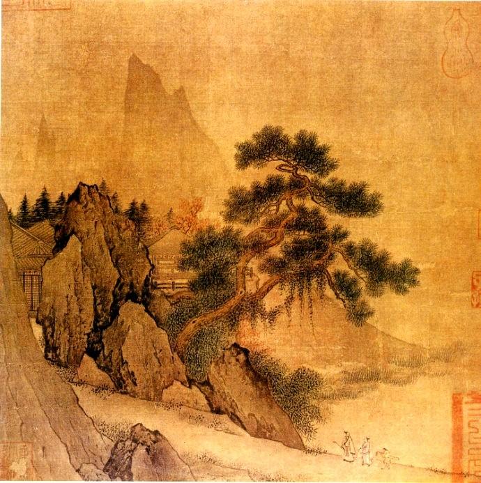 中国画·古松观止     第一部分_图1-16