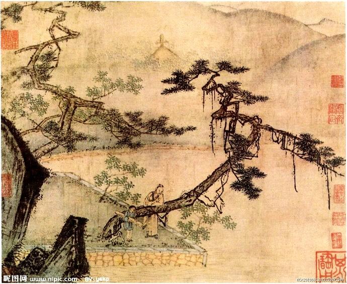 中国画·古松观止     第一部分_图1-19